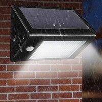 جديد 20 led استشعار الحركة الشمسية ضوء سطوع عالية توفير الجدار مصباح للماء ضوء الشرفة