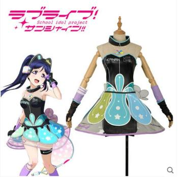 Hot Anime LoveLive!Sunshine! COSPLAY COS Matsuura kanan COS Halloween Party sweet and cute Lolita Game style Costumes