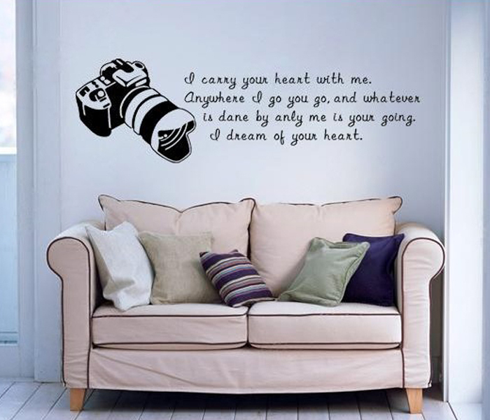 Attractive Lovely Print Your Own Wall Stickers Design Images