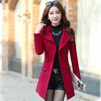 Casaco de inverno feminino longo trench coat para mulher mais tamanho casaco roupas 2019 sobretudo feminino abrigos mujer invierno 2019