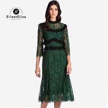 Vestidos de renda verde 2018