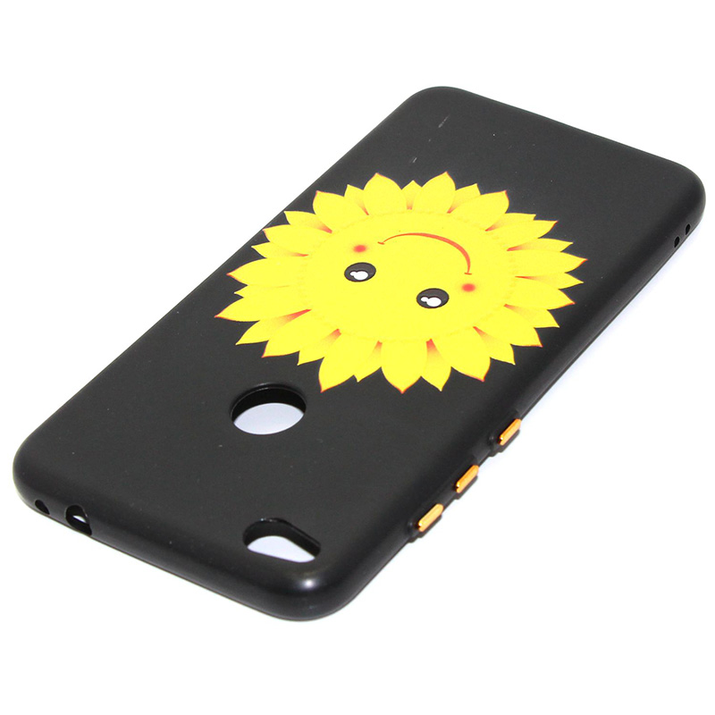 3D Relief flower silicone case huawei p8 lite 2017 honor 8 lite (22)