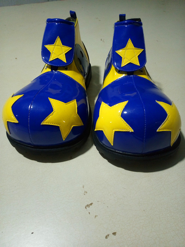 4 styles free size star adults clown cosplay boots funny clown shoes party supplies halloween cosplay shoes white black clown