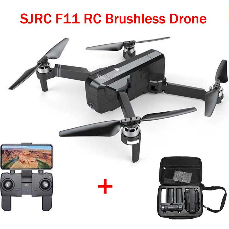 LeadingStar SJRC F11 GPS 5G Wifi FPV With Angle HD Camera High Hold Mode 1080P Camera Brushless Selfie RC Drone Quadcopter(China)