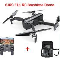 LeadingStar SJRC F11 GPS 5G Wifi FPV Với Góc Camera HD Cao Giữ Chế Độ 1080 P Không Chổi Than Selfie RC Drone Quadcopter