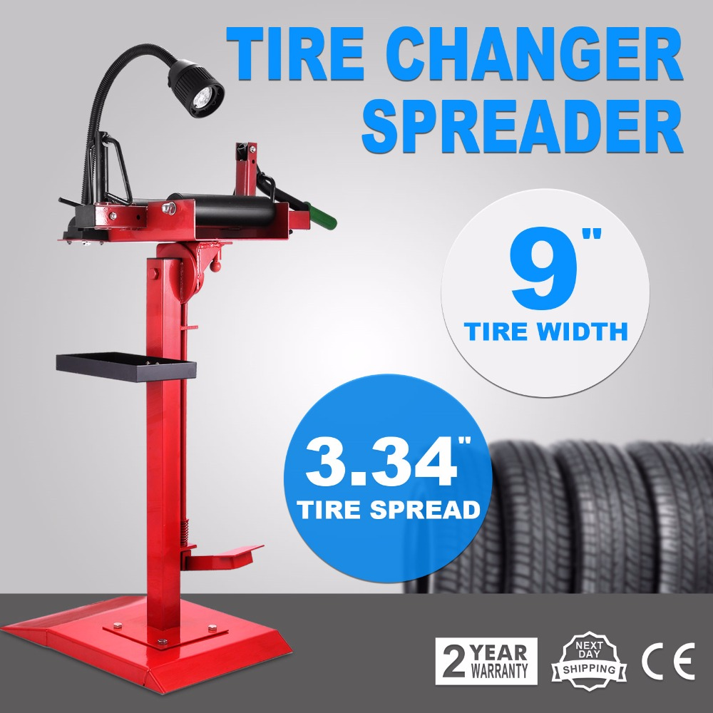 Tire Spreader Adjustable Swivel Manual Tire Spreader Suitable for Car Light  Truck Tire Changer Tool with Tilting Pedal and Worki-in Tool Parts from  Tools on ...