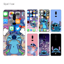 Uyellow Cartoon Cute Stitches Silicone Soft TPU Phone Case For One Plus 7 Pro 6 6T 5 5T Shell Fashion Fundas Printed Cover Coque