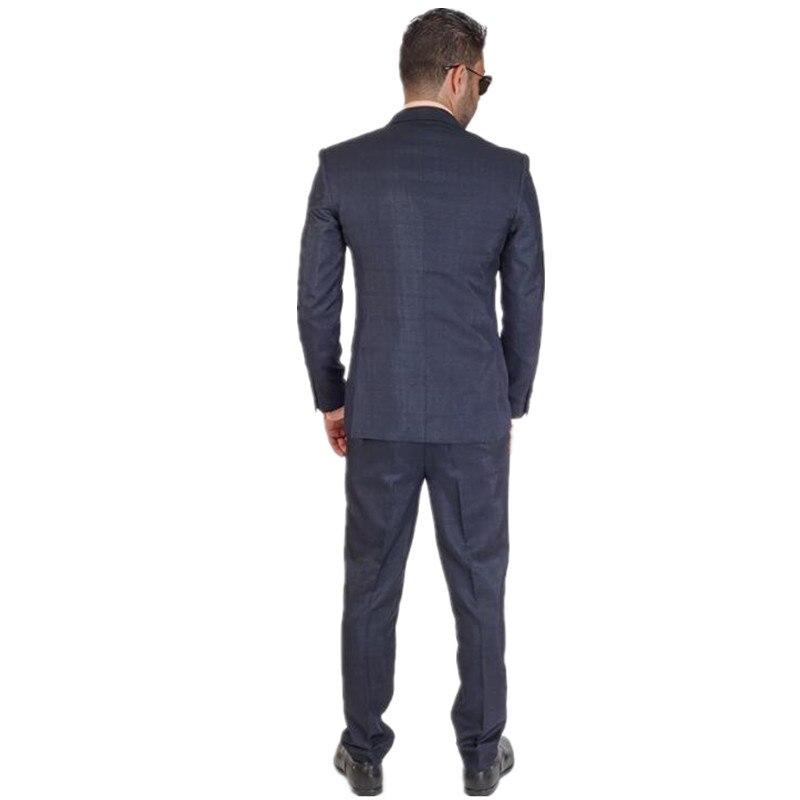 Nuevo 2018 hombres guapos traje de tres piezas Venta caliente color ...
