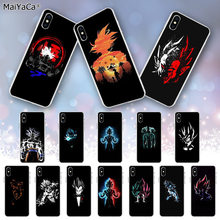 Maiyaca Dragon Ball Z Goku Novelty Fundas Phone Case Cover untuk Apple Iphone 11 Pro 8 7 66S Plus X XS Max 5S SE XR Cover(China)