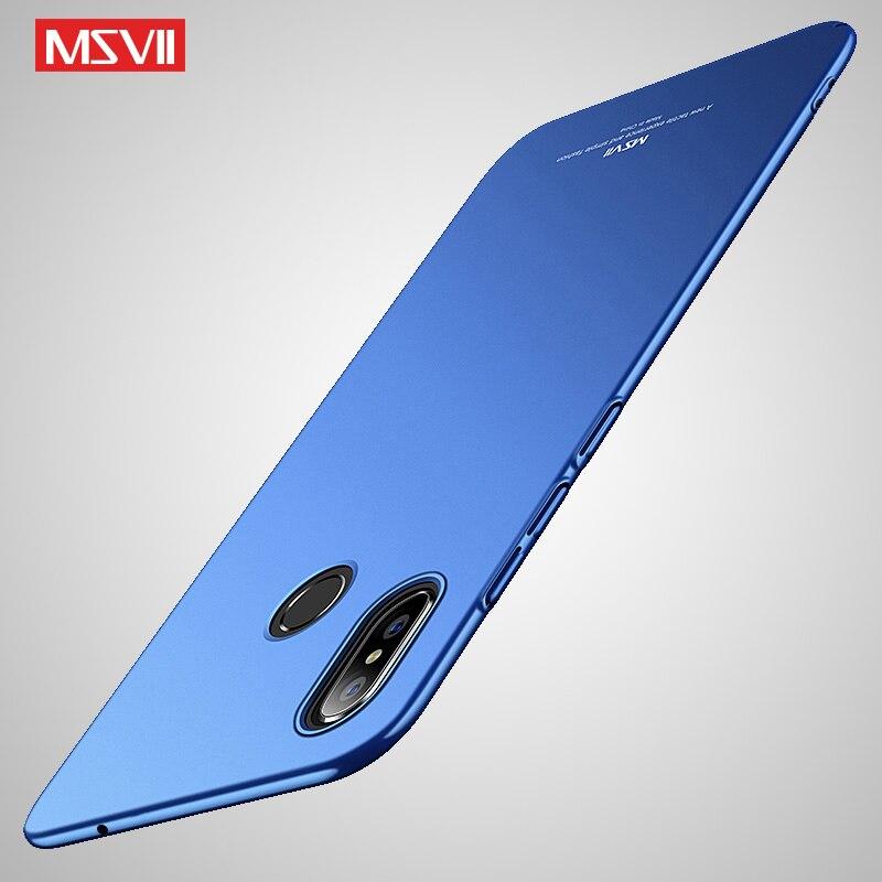 Xiaomi Mi Mix 3 Case MSVII Slim Frosted Cover For Xiaomi Mix 3 Mix3 Case Xiomi Max3 Hard PC Cover For Xiaomi Mi Max 3 Phone Case