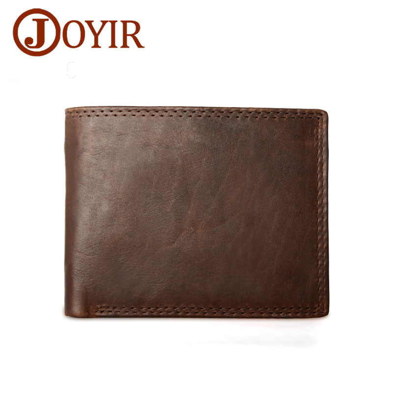 Famous  Designer Leather Wallet Genuine Leather Men Wallets Vintage Men Purse Card Holder Coin Pocket Wallets Money Coin Purse