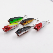 1PCS Artificial Hard Minnow Crank lures Colorful big mouth fishing bait with 3D Eyes Wobbler Swim  fish Tackle tools accessory
