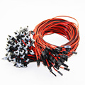ATX Power Switch ON OFF Reset Data Cable Cord Line For PC Computer Motherboard Case 100pcs/Bundle