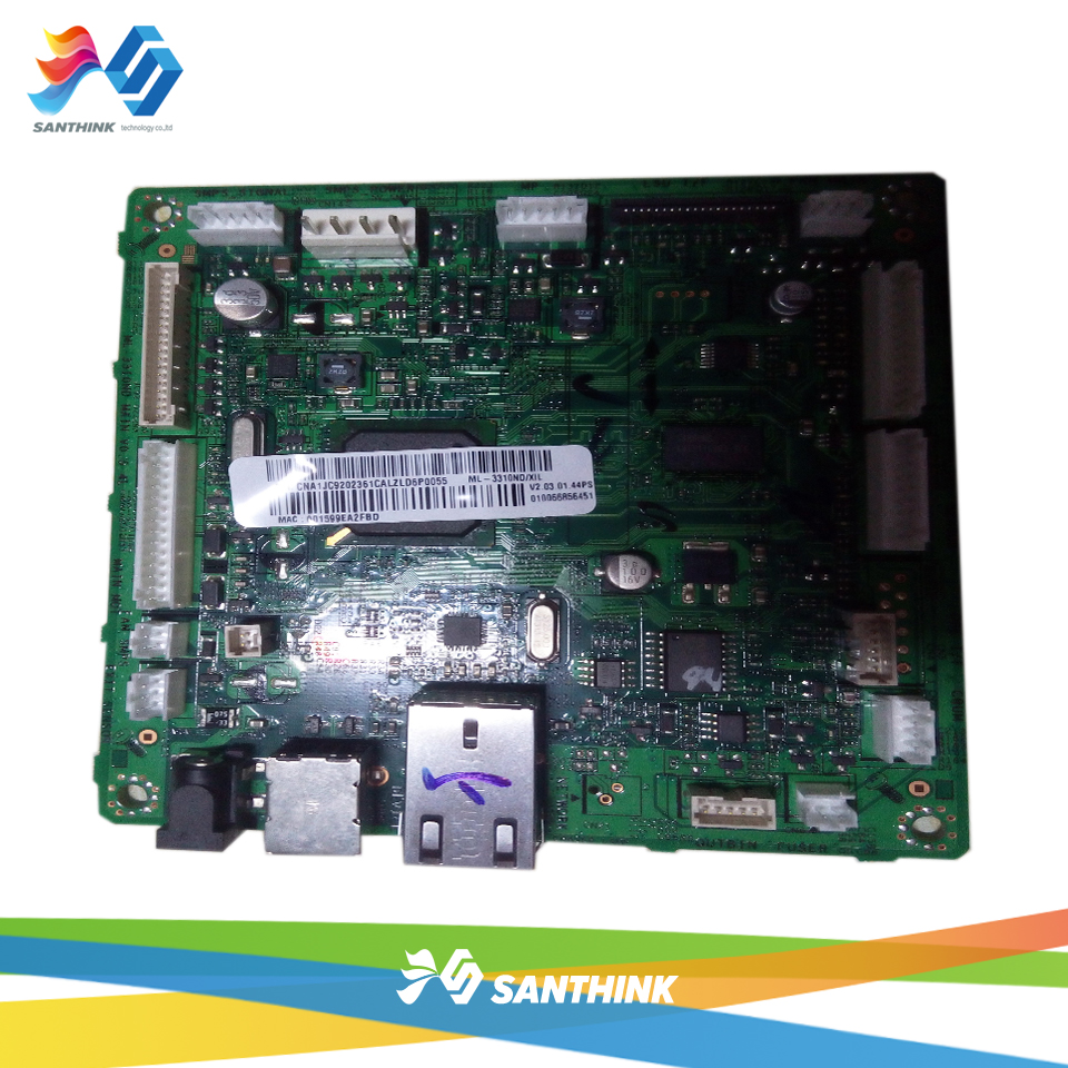 Main Board For Samsung 3310  ML-3310ND 3310ND Formatter Board Mainboard On Sale 100% test main board for samsung ml 2160 ml 2161 ml 2165 ml 2160 2161 2165 formatter board mainboard on sale