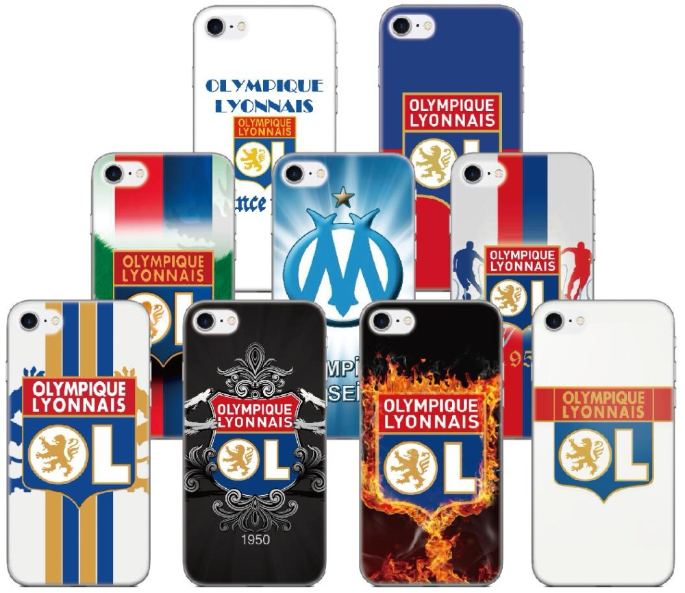 Olympique Lyonnais <font><b>Case</b></font> For <font><b>BQ</b></font> Aquaris <font><b>M5</b></font> E5 E6 <font><b>M5</b></font>.5 X5 Plus For Blackberry Z10 Z30 Q10 For Sony Xperia X XA XZ1 Compact L1 XZ