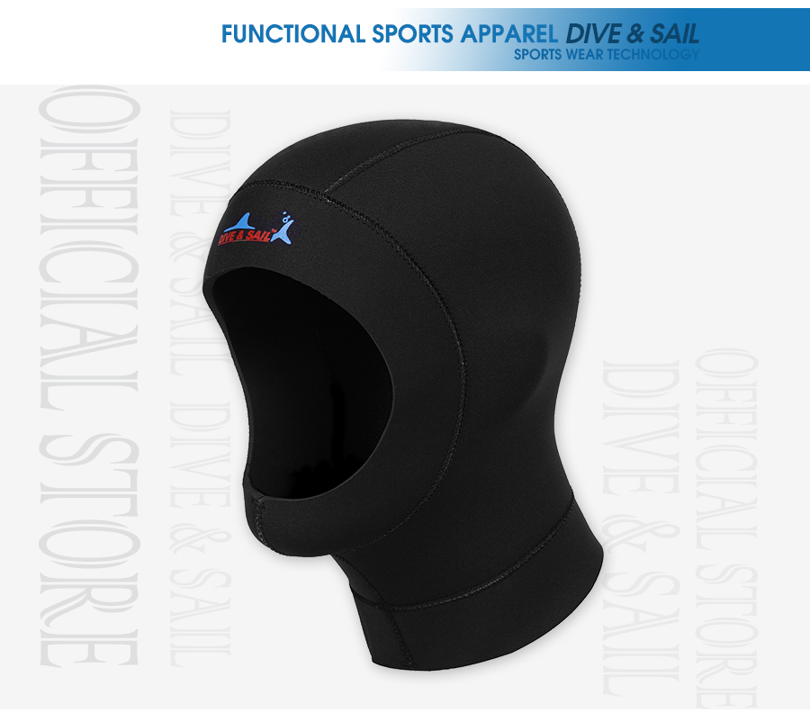 Details about  /Scuba Dive Snorkeling Hood Warmer Cap Breathable for Snorkeling Canoeing