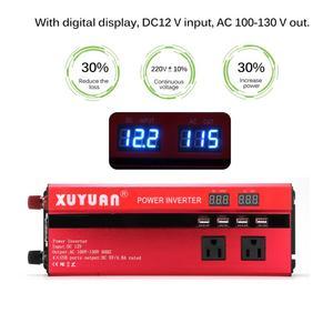Image 5 - SOLAR Power INVERTER 5000W Sine WAVE อินเวอร์เตอร์ DC AC 12 V/24 V 220V Converter 4 USB พอร์ต Dual จอแสดงผล LED