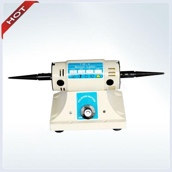 Polishing Motor with 2 pcs Buffing Free 0-10000 RPM Micromotor Bench Lathe for Dental Supply Jewelry polishing Machine