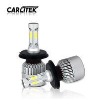 CARLitek S2 COB CHIPS 72W 8000LM H4 LED Bulbs For Car Headlight Driving Fog Light 6500K