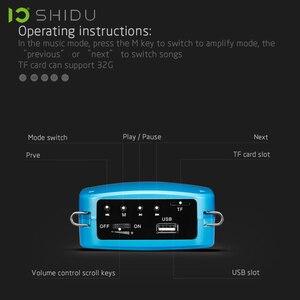 Image 2 - SHIDU S613 אלחוטי נייד קול מגבר UHF מיני אודיו רמקול USB Lautsprecher למורים Tourrist מדריך מורה ליוגה