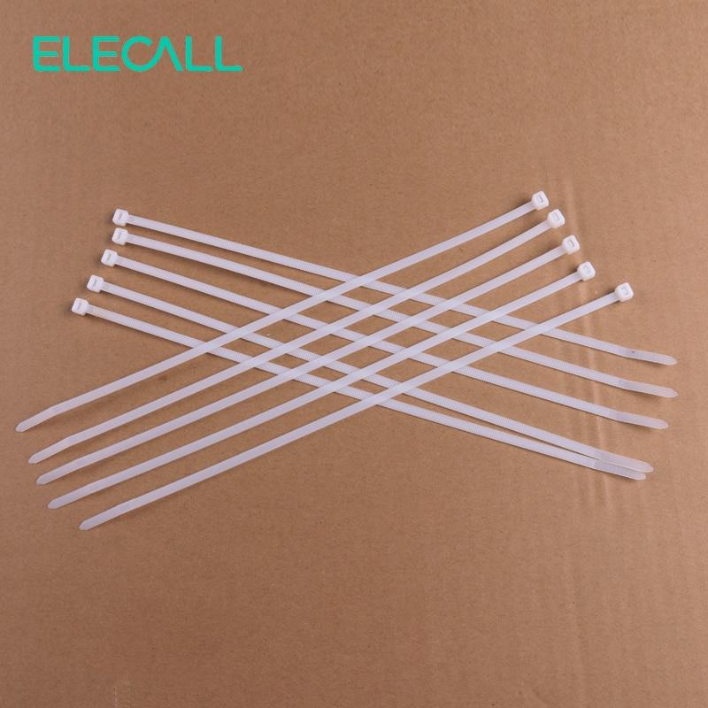 5*300mm Selbsthemmung Nylon Kabelbinder 100 Teile/paket Kabelbinder ...