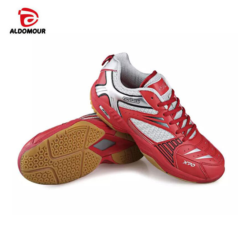 ALDOMOUR Men Women Professional Volleyball Shoes 2018 Anti Slipper Hard-Wearing Sports Shoes Table Tennis Shoes Blue Green Color aldomour breathable volleyball shoes sneakers stability anti slip ping pong shoes breathable table tennis shoes volleyball shoes