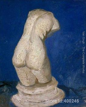 oil reproduction art by Vincent Van Gogh Plaster Statuette Of A Female Torso Home decor Hand painted High quality