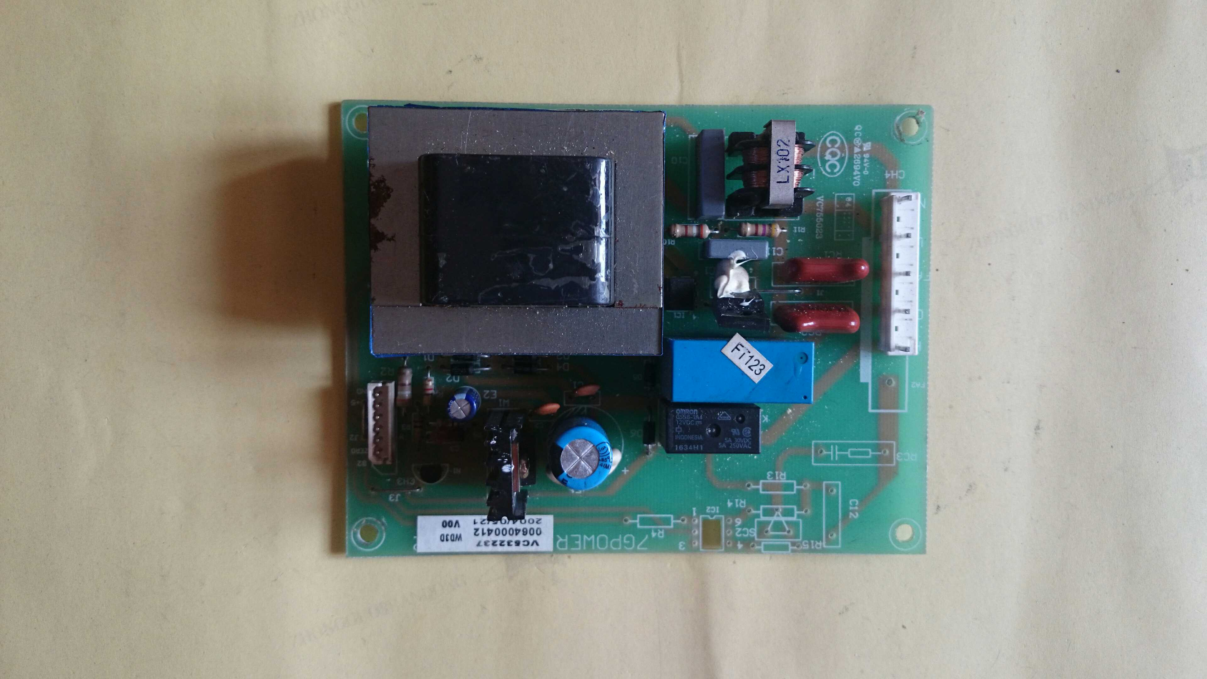 Haier refrigerator power main control board 0064000412 original BCD-190G/C -210G/C power board 95% new for haier refrigerator computer board circuit board bcd 198k 0064000619 driver board good working