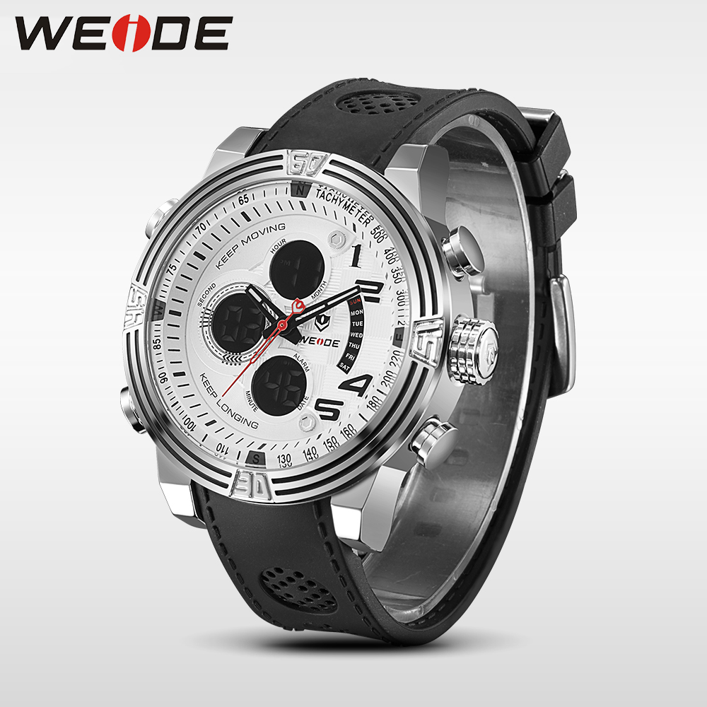 WEIDE 2017 New Men Quartz Casual Watch Army Military Sports Watch Waterproof Back Light Alarm Men Watches alarm Clock camping weide 2017 new men quartz casual watch army military sports watch waterproof back light alarm men watches alarm clock berloques