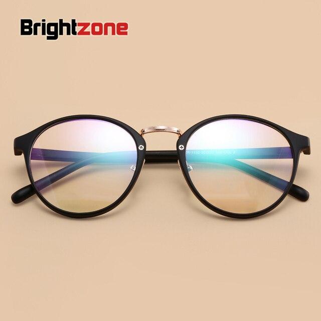 DYvision Nova Moda Coreana Retro Tr90 dobrável Óculos de Armação  Mulheres Feminino Rodada Círculo Moldura 9100b017d7