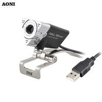 AONI Webcam 1920 1080 HD Computer Web Cam For Laptop Desktop Smart TV USB Plug And