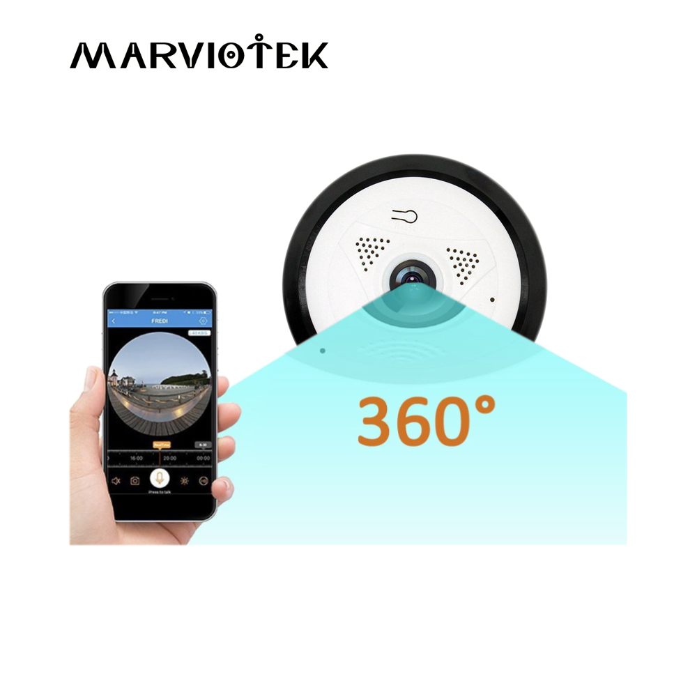 960P HD Video Monitor IP Camera Wireless Network Surveillance Security Night Vision Alert Motion Detection VR Panoramic Camera hd 960p wifi wireless robot security ip camera 160 degree night vision motion detection audio alarm function video home monitor