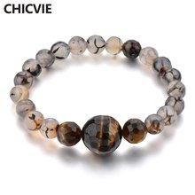 Chicvie серые браслеты ручной работы на расстоянии для женщин