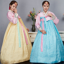 Hanbok Korean Dress Fashion Female Traditional Court Minority Clothing Dance for Show Asian