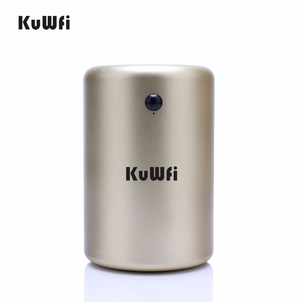KuWfi 300Mbps Wireless Router Home Networking Cylinder Cool Design Smart Wifi Repeater Access Point With USB Port