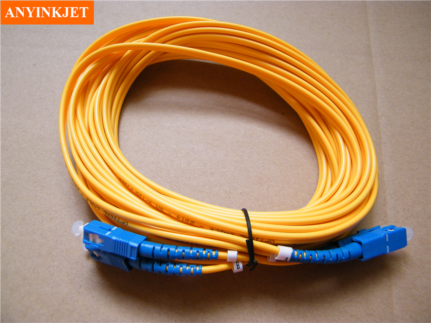 6 mètres Double Heads Fiber optique câble pour Galaxy Phaeton Infiniti Gongzheng Solvant Imprimante Tête D'impression Carte Mère câble de Données