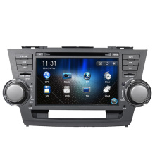 Free Shipping 8″ Car DVD Player GPS Navigation system for Toyota Highlander Kluger 2008 2009 2010 2011 2012 Radio Ipod Bluetooth