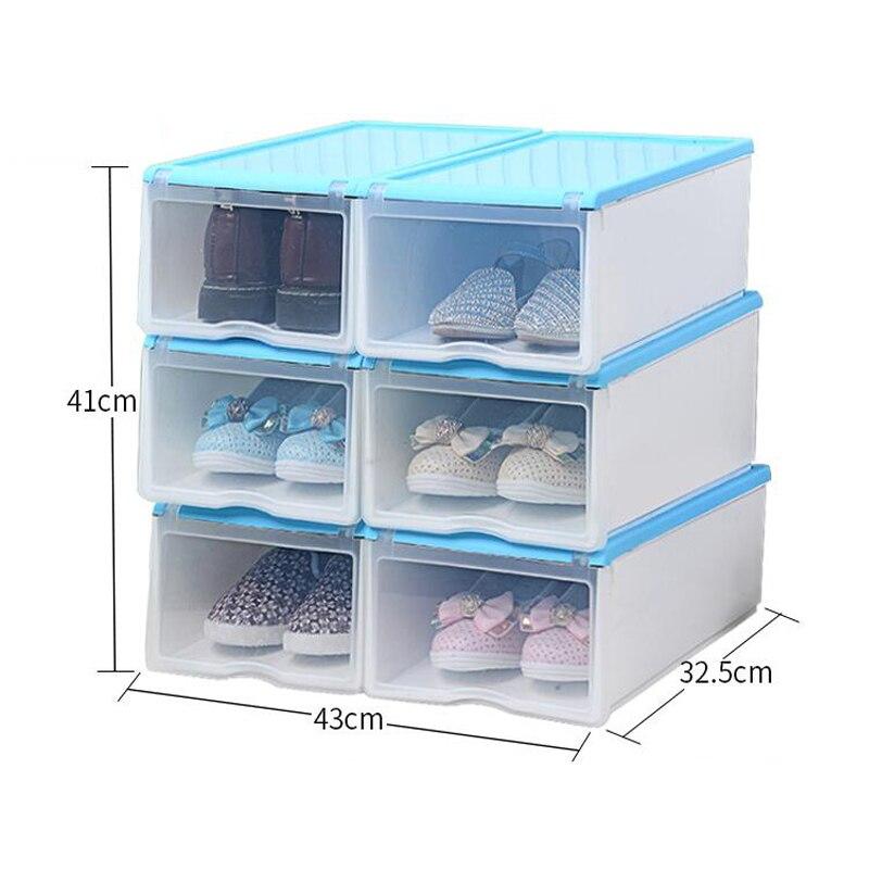 new arrivals shoes storage boxes plastic shoe