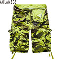 Camouflage Shorts Men Outdoors Sporting Trunks Bodybuilding GymShark Jogger Shorts Homme Summer Casual Camo Short Trousers 29/38