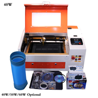 Co2 laser engraving machine cutter machine CNC laser engraver,DIY laser marking machine,carving machine 40W/50W/60W Optional