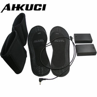Promotional USB Powered Shoes For Size 38 46 Heated Insole Electric Heating With Battery