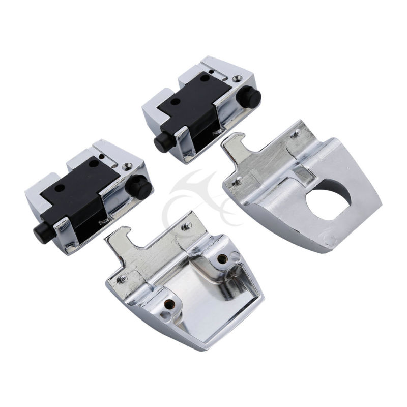 Image 5 - King Tour Pack Pak Latches For Harley Davidson Touring 88 13 FLHT FLHR FLHX Electra Road Street Glide 1988 2013-in Locks & Latches from Automobiles & Motorcycles