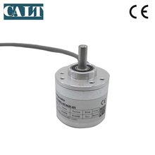 Low price CALT single turn absolute encoder 38mm outer 4096 resolution to measuring angle and speed CAS38 low price single lap absolute encoder ssi interface output 14 bits 16384 resolution cas60r14e10sgb angle position sensor