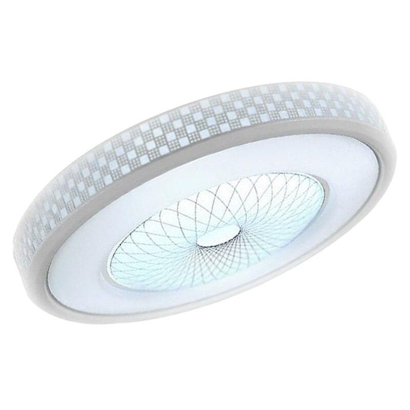 Modern LED Round Acrylic Lighting Chandelier Ceiling Lamp Light Flush Mount