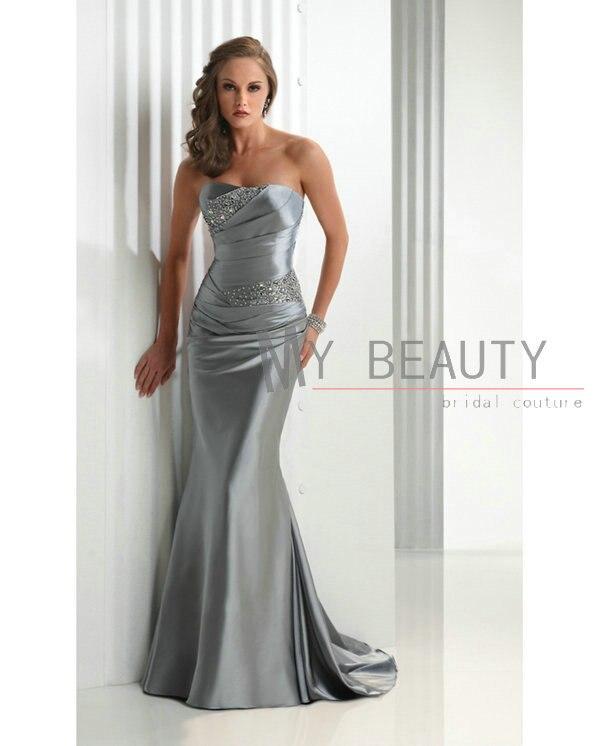 Aliexpress.com : Buy Free Shipping Women's Dresses Gray Prom ...