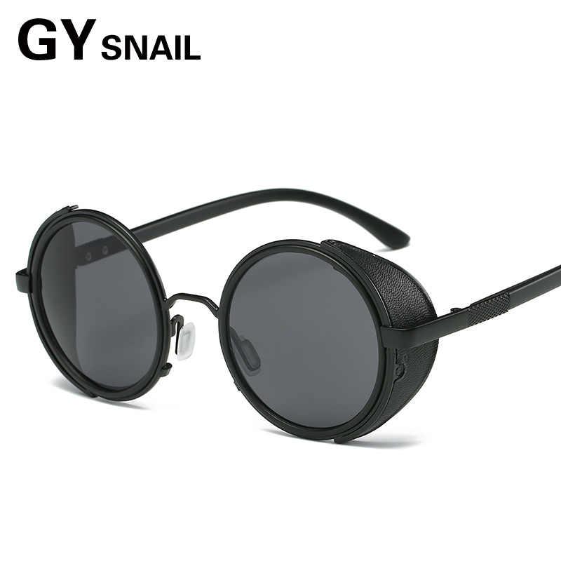 0141cf0c84 ... GYsnl vintage steampunk sunglasses men round designer retro Gothic sun  glasses for male mens sunglass women ...