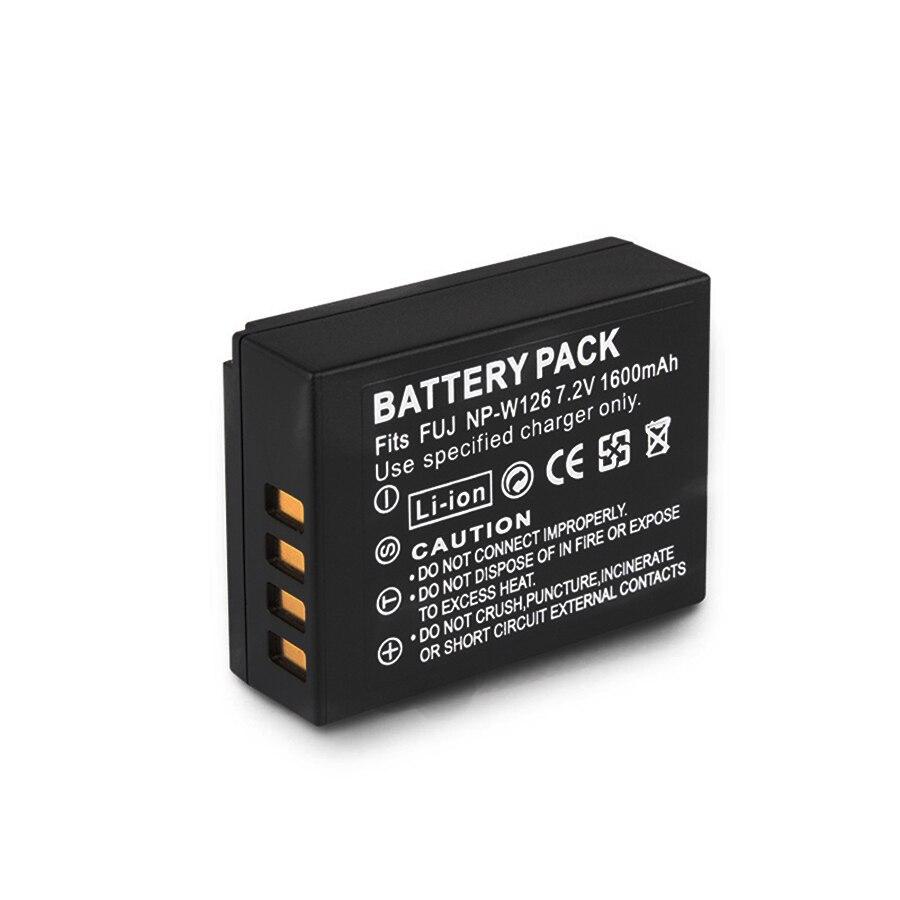 Batterien Neue Mode Np-w126 Np W126 Npw126 1600 Mah Kamera Li-batterie Für Fujifilm Finepix Hs30exr Hs33exr Hs50exr X-a1 X-e1 X-e2 X-m1 X-pro1 Batterie Unterhaltungselektronik