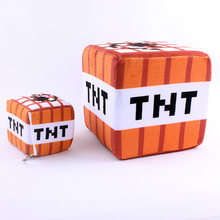 Minecraft Plush Toys Minecraft TNT Plush Pillow Key Chain Pendant Soft Stuffed Toys Brinquedos for Children Kids Xmas Gifts(China)