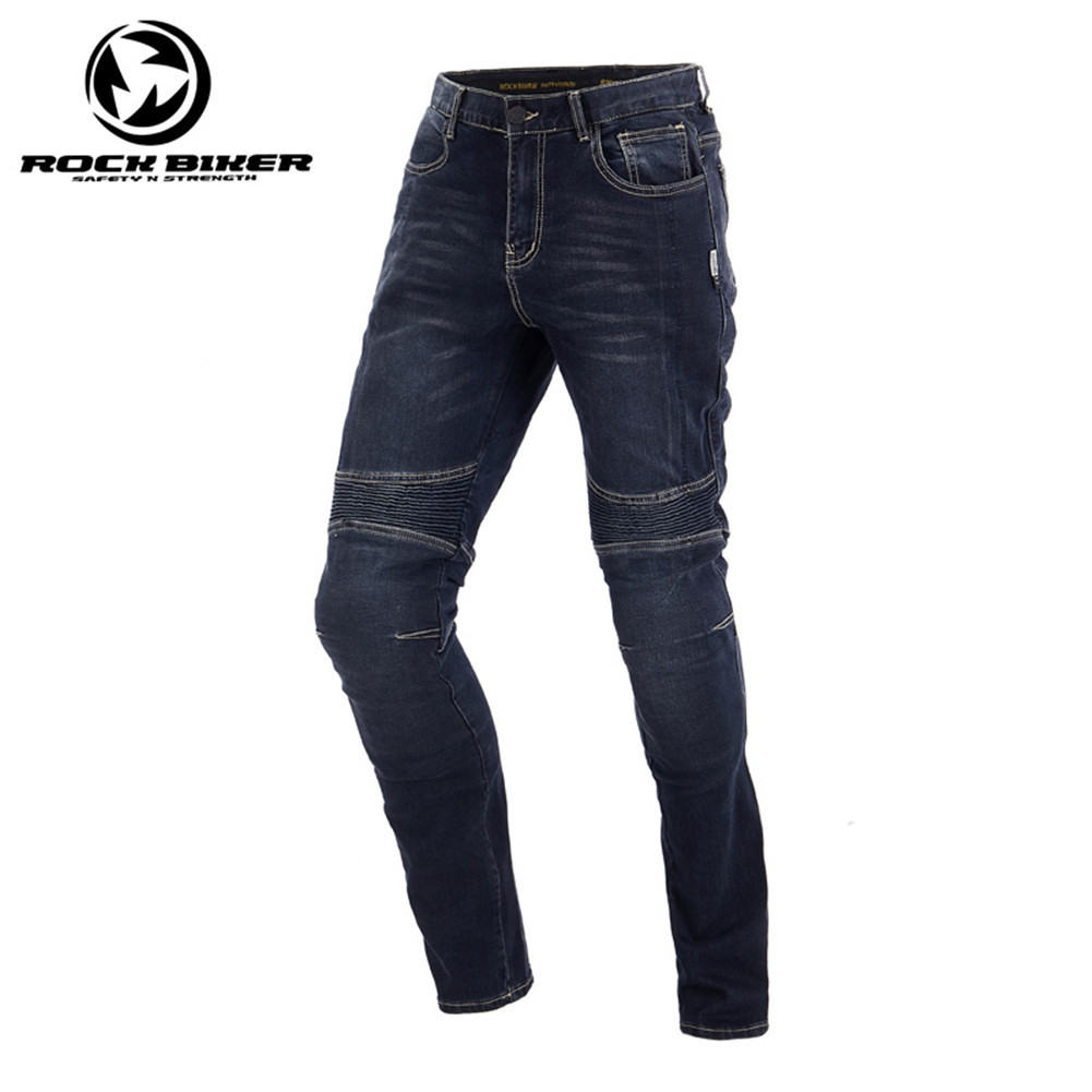 Rock Biker Vintage Motorcycle Jeans Summer Men Racing Motorcycle Trousers Moto Sports Pants With Kevlar Equipamento De Motocross