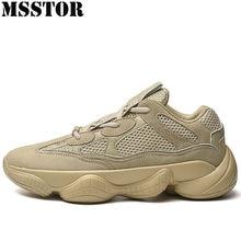 39b9f372e MSSTOR Plus Size 39-48 Tênis Para Homens Malha Respirável Sapatos de  Desporto Homem Marca de Calçados Esportivos de Corrida de L..
